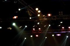 Beleuchtungsbau-Lichtgleichheit der Leistung bewegende stockbilder