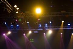 Beleuchtungsbau-Lichtgleichheit der Leistung bewegende lizenzfreies stockbild