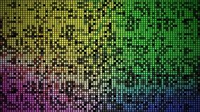 Beleuchtungsblinzeln regtangle Hintergrund der Zusammenfassung 4K gelegentliches vektor abbildung