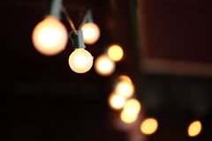 Beleuchtungsdekor Stockfoto