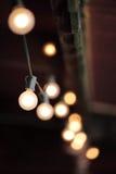 Beleuchtungsdekor Stockbild