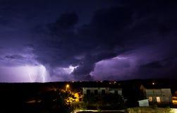 Beleuchtungssturm Stockfotografie