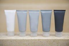 Belevingswaarde in badkamers wordt geplaatst die Stock Foto