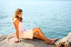 Beleza 2 da beira do lago Foto de Stock
