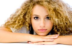 Beleza adolescente Fotos de Stock