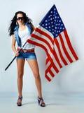 Beleza americana Imagem de Stock