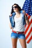 Beleza americana Imagens de Stock