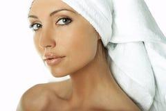 Beleza após o banho Imagem de Stock Royalty Free