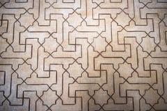Beleza arquitetónica de Alhambra Palace foto de stock royalty free