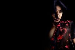 Beleza asiática Foto de Stock Royalty Free