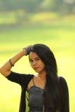 Beleza asiática adolescente indonésia exótica Fotos de Stock Royalty Free