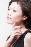 Beleza asiática da forma Fotos de Stock Royalty Free
