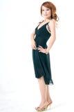 Beleza asiática no perfil Imagens de Stock Royalty Free