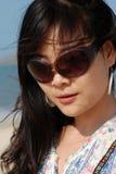 Beleza asiática nova Fotografia de Stock