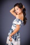 Beleza asiática 'sexy' levantada Imagem de Stock