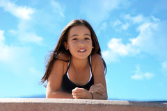 Beleza asiática 3 Imagem de Stock Royalty Free