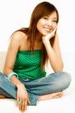 Beleza asiática Fotografia de Stock