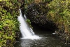 A beleza cênico das ilhas havaianas - Maui Imagens de Stock Royalty Free