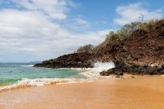 A beleza cênico das ilhas havaianas - Maui Fotos de Stock