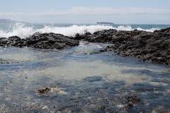 A beleza cênico das ilhas havaianas - Maui Fotografia de Stock Royalty Free