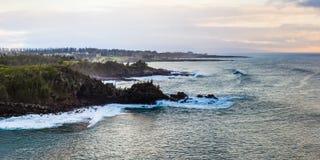 A beleza cênico das ilhas havaianas - Maui Fotos de Stock Royalty Free