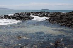 A beleza cênico das ilhas havaianas - Maui Foto de Stock Royalty Free