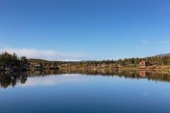 A beleza cênico do Colorado Rocky Mountains Imagem de Stock