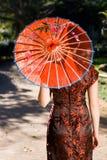 Beleza chinesa imagens de stock