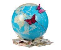 A beleza conservará o mundo Imagem de Stock