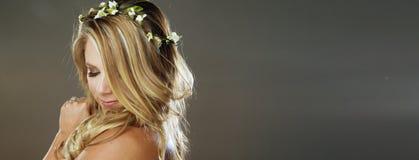 Beleza coroada Fotos de Stock
