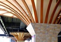 A beleza da estrutura do teto imagem de stock