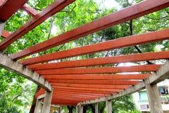 A beleza da estrutura do teto fotografia de stock