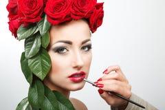 Beleza 4 da flor Imagens de Stock