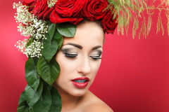 Beleza 9 da flor Fotos de Stock