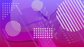 A beleza da geometria e do caos Fundo geom?trico colorido A cor fluida dá forma à composição ilustra??o abstrata do vetor ilustração do vetor
