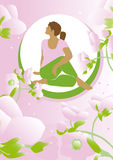 Beleza da ioga Foto de Stock Royalty Free