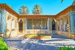 A beleza da mansão persa, Shiraz, Irã Imagem de Stock Royalty Free