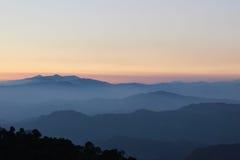Beleza da montanha foto de stock royalty free