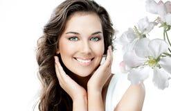 Beleza da mulher Fotografia de Stock Royalty Free