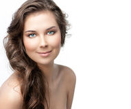 Beleza da mulher imagens de stock royalty free