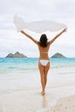 Beleza da mulher de Oahu Fotos de Stock Royalty Free