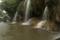 A beleza da natureza e das cachoeiras Fotos de Stock