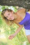 Beleza da natureza (retrato da mulher) imagens de stock royalty free