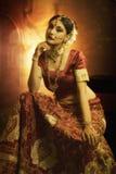 Beleza da noiva indiana imagens de stock royalty free