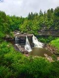 Beleza das cachoeiras Fotos de Stock Royalty Free