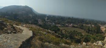 Beleza das montanhas fotografia de stock royalty free