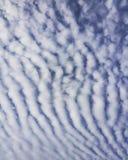 Beleza das nuvens Foto de Stock