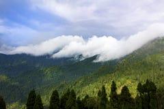 Beleza das nuvens fotos de stock