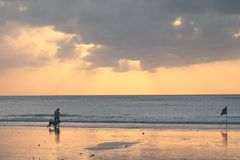 Beleza de Bali imagem de stock