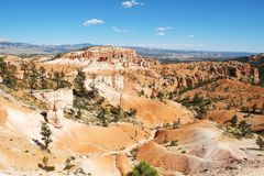 A beleza de Bryce Canyon fotos de stock royalty free